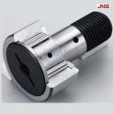 KRV 22 PP  JNS - 10x22x12 Rolka igiełkowa z trzpieniem, koncentryczna z bieżnią łukową